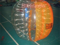 Demi-couleur bubble soccer