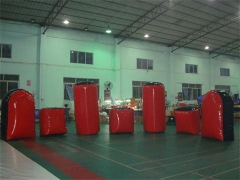 Bunkers gonflables en paintball