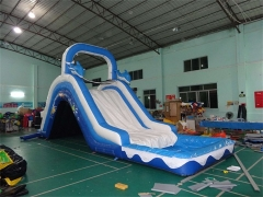 Doubel drop water slide