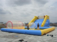 Rampe gonflable zorbing