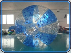 Demi-couleur zorb ball