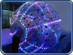 Éclairage led zorb ball