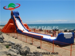 Giant Inflatable Water Slide With Slip N Slide