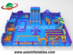 Moonwalk Castle Combo Inflatable Trampoline Park Inflatable Theme Park Manufacturers